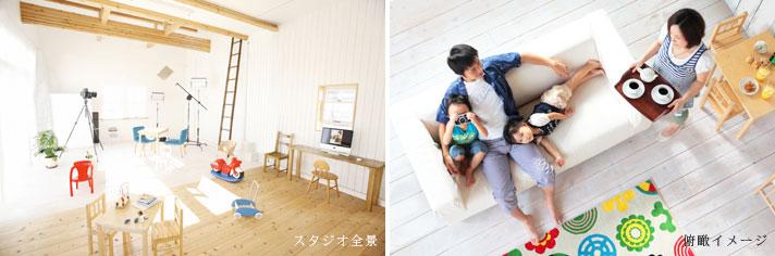 クローバースタジオのスタジオ(新潟・東京)についてのページ・・・ スタジオについて ・・・